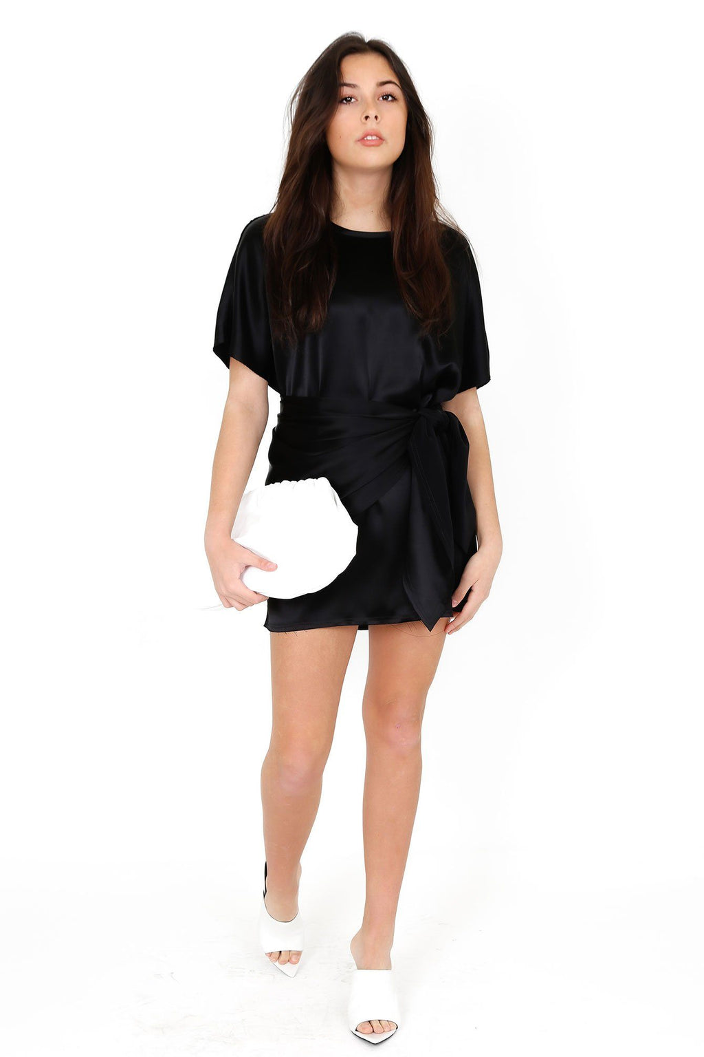 BAJA EAST | T-shirt Dress - Black