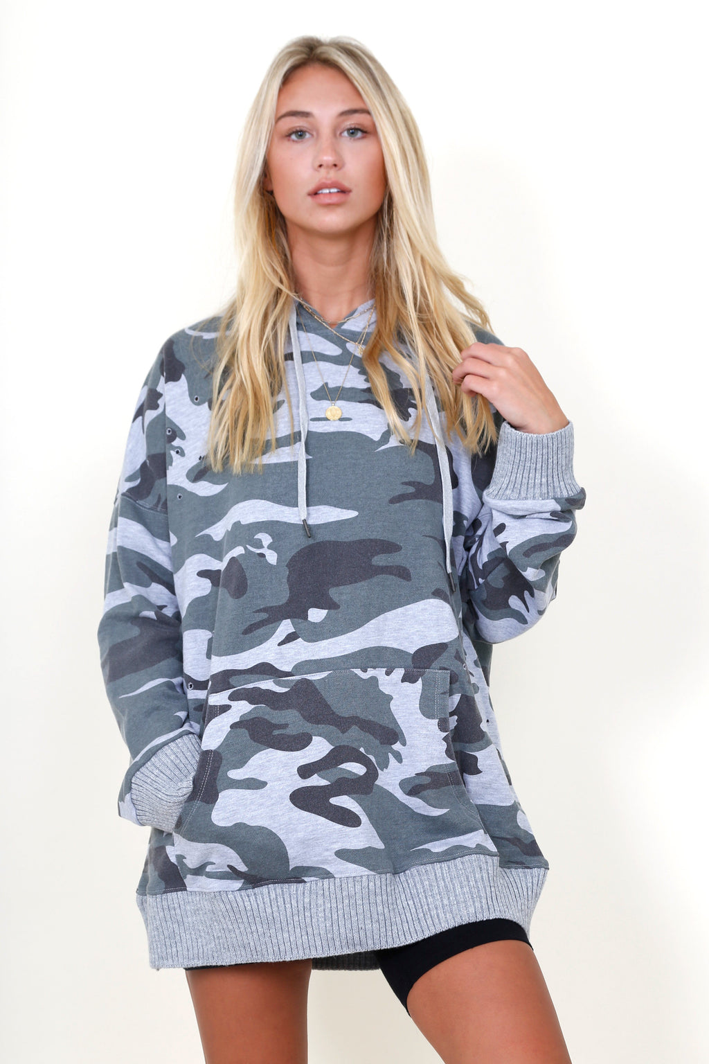 Camo Matter What Hoodie