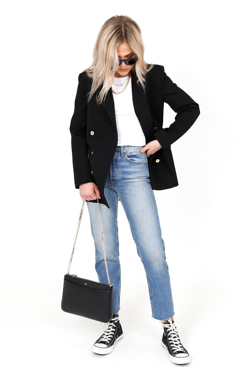 MOUSSY | MV Black Tailored Jacket