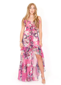 PATBO | Grace Print Convertible Dress