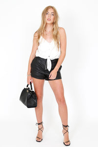 CAMI NYC | The Julie Silk White Tank