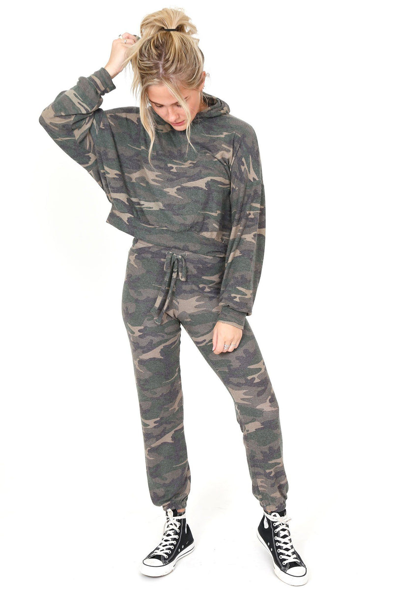LNA | Camo Jogger - Brushed