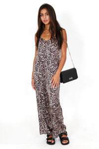 NATION | Leopard Lingerie Jumpsuit