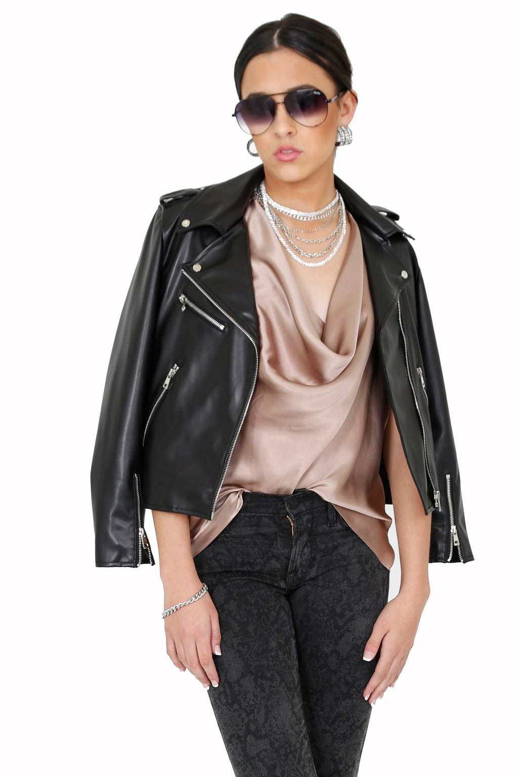 PIPER + JANE | Biker Jacket - Black