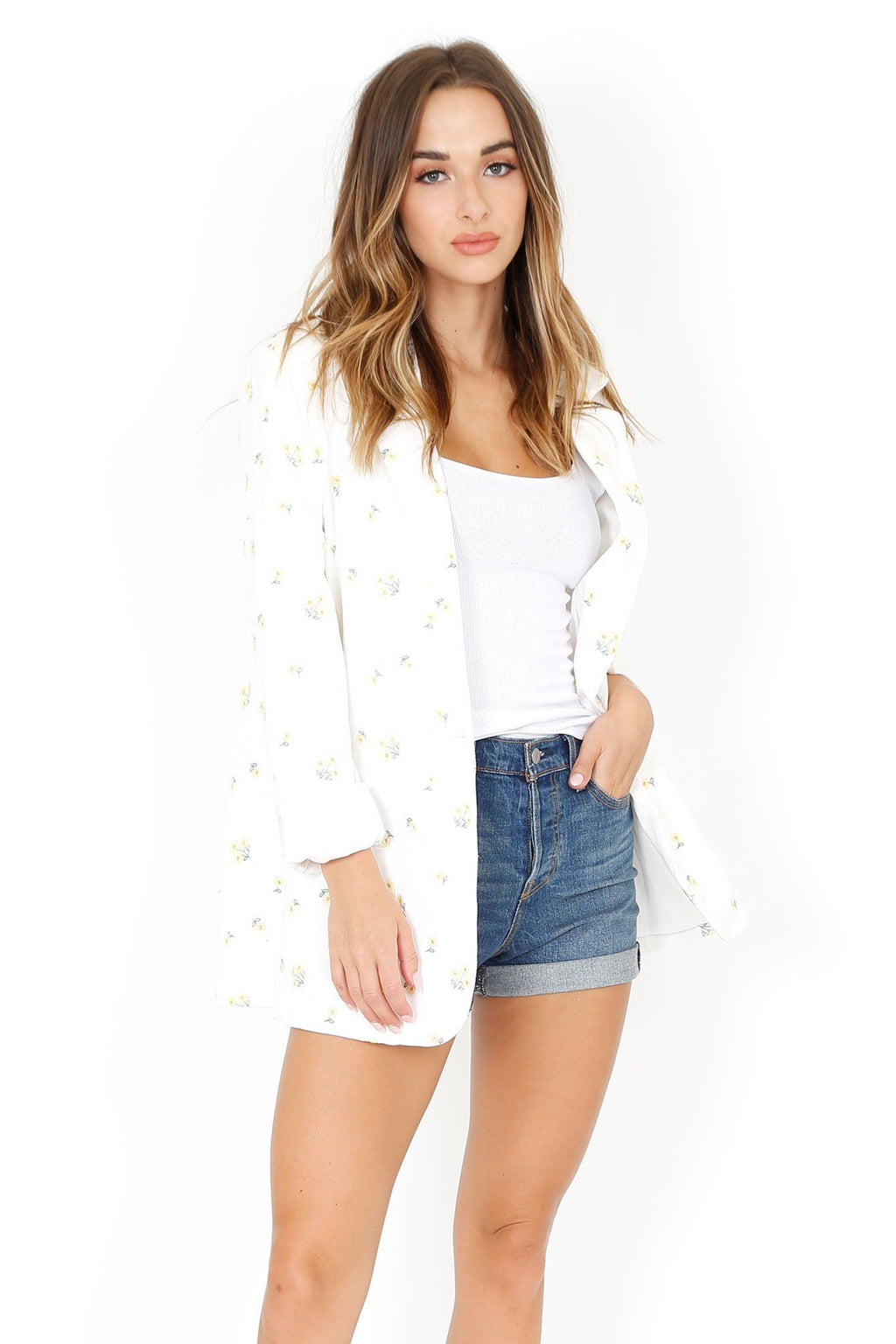 FOR LOVE & LEMONS | Waverly Oversized Blazer - Daisy Daisy