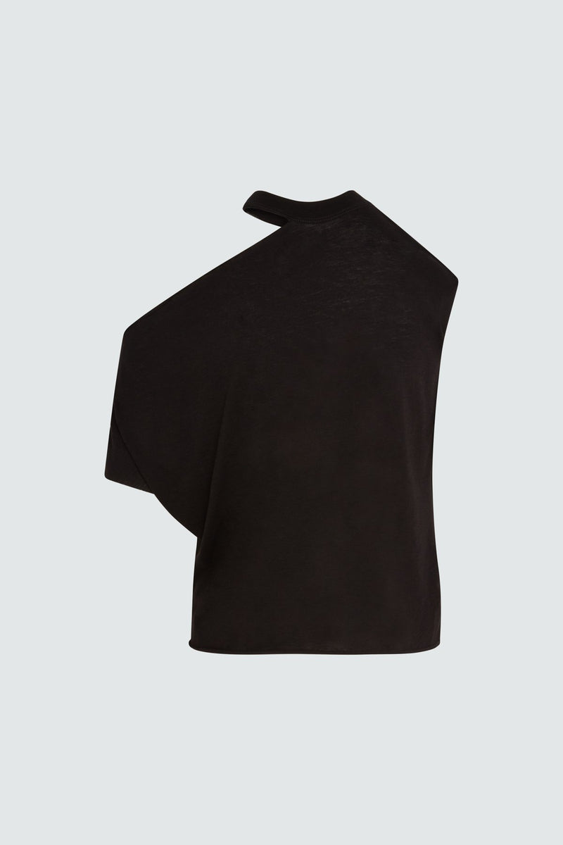 RTA | Axel Rib Neck Cut Out - Black
