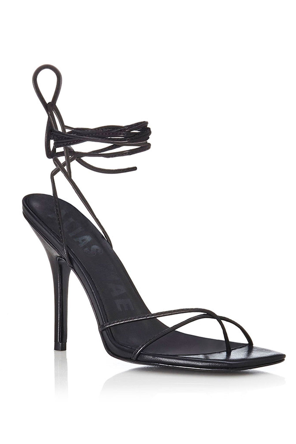 ALIAS MAE | Monroe Sandal Heel - Black Leather