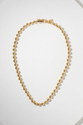 VANESSA MOONEY | Boss Ball Chain Necklace