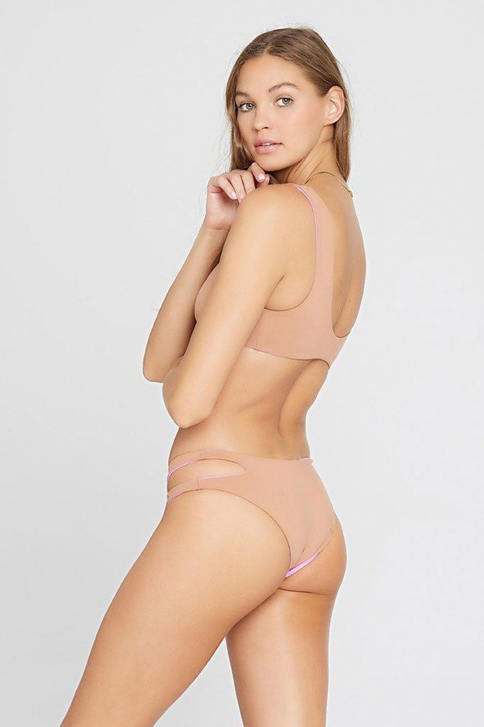 LSPACE | One Wave Top - Putty/Nude
