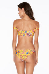 L*SPACE | Pacific Bloom Ziggy Top - Sunshine Gold