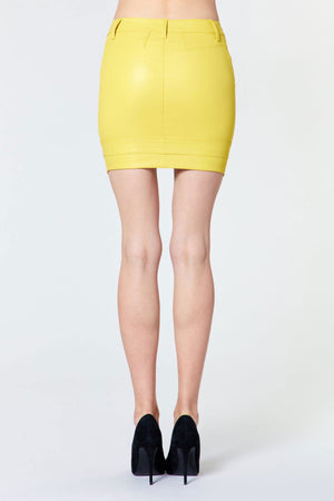 RTA | Tempest V-Point Skirt - Electric Yellow