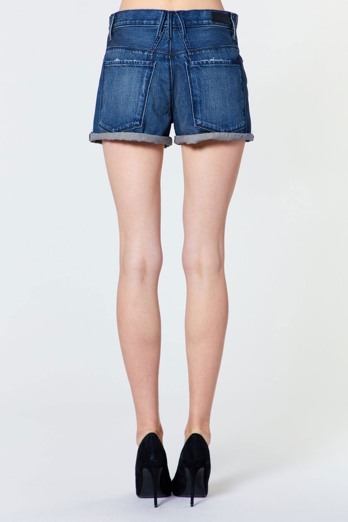 RTA | Pierce Belted Baggy Short - Carpenter Blue