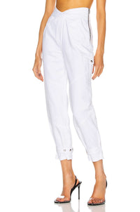 RTA | Dallas Cargo Pant - Optic White