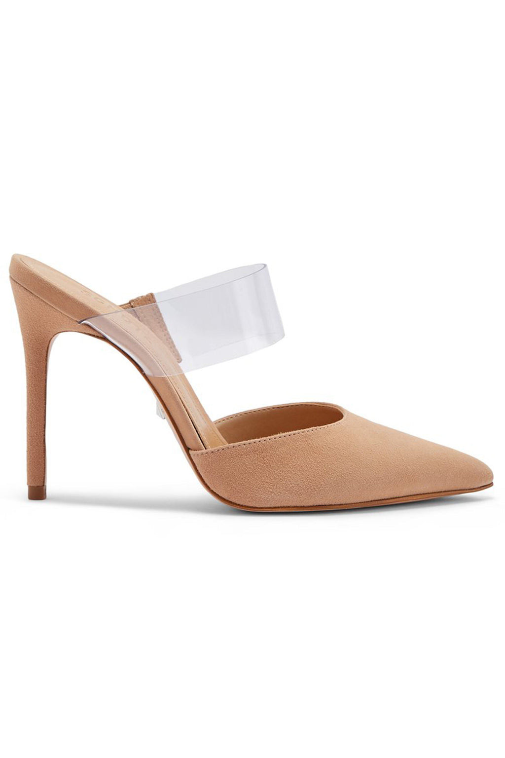 SCHUTZ | Sionne Heel - Honey Beige + Clear