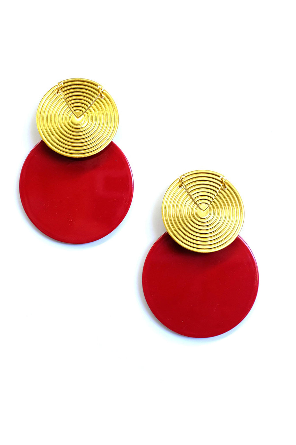 ELIZABETH COLE | Kayla Earring - Red