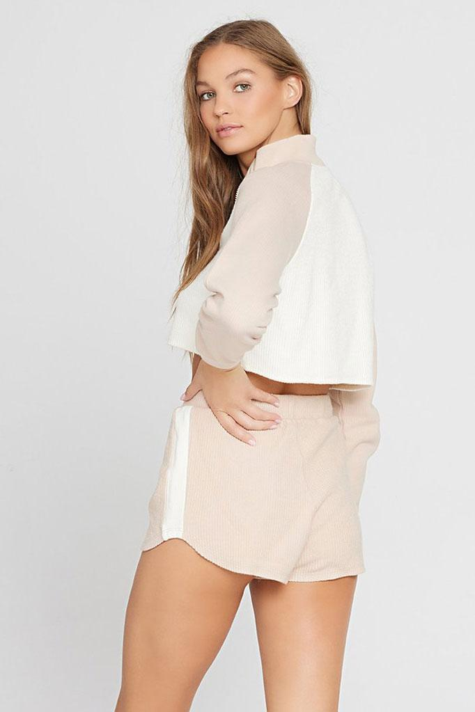 LSPACE | Off Duty Short - Cream