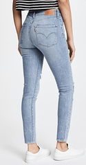 LEVI'S | 721 High Rise Skinny - Worn & Torn