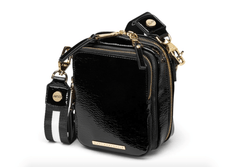 QUAY | Camera Bag - Black/Gold