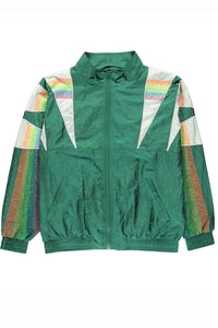 ESSENTIEL ANTWERP | Vucifer Training Jacket - Emerald Jewel