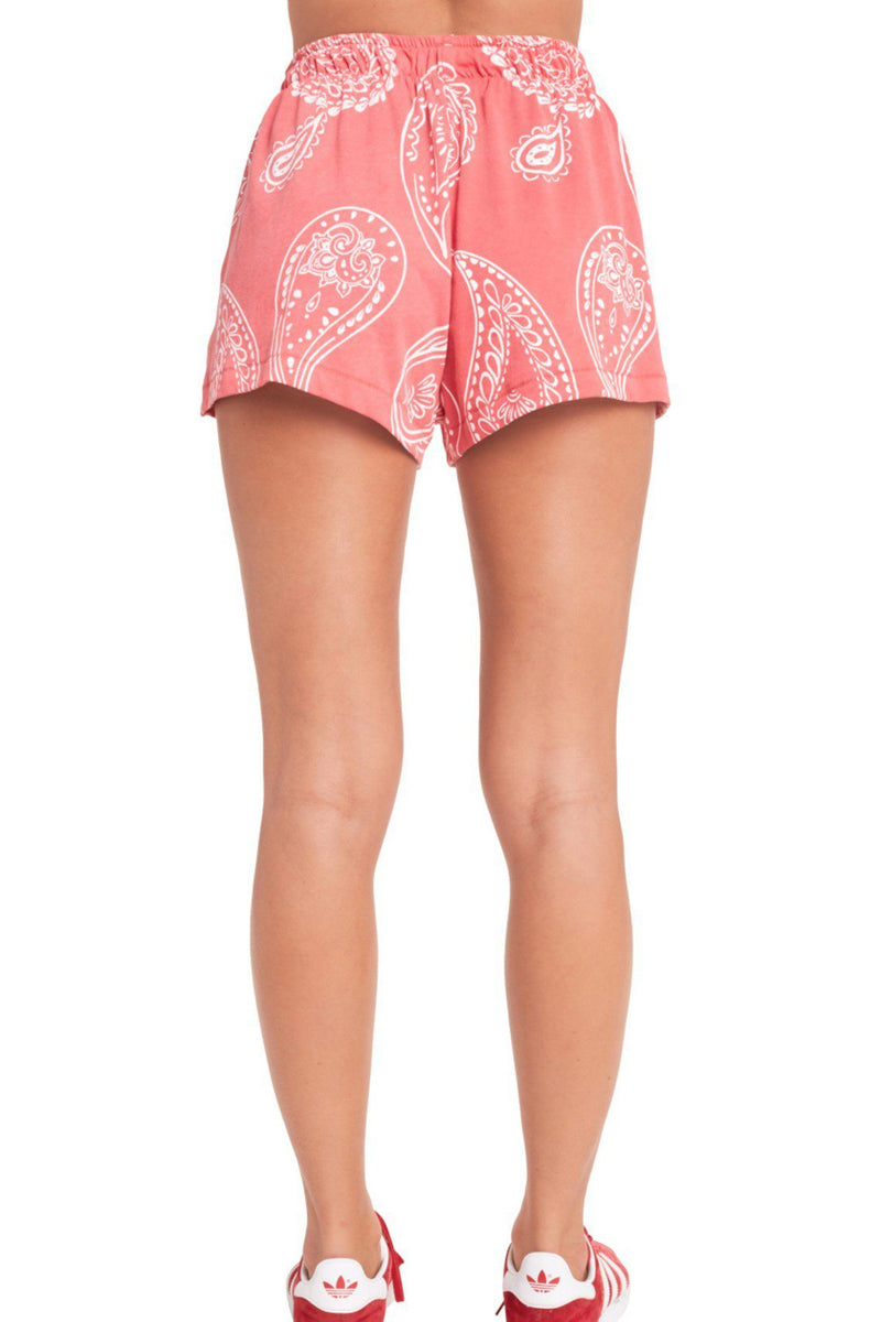 WILDFOX | Jumbo Paisley Golden Shorts