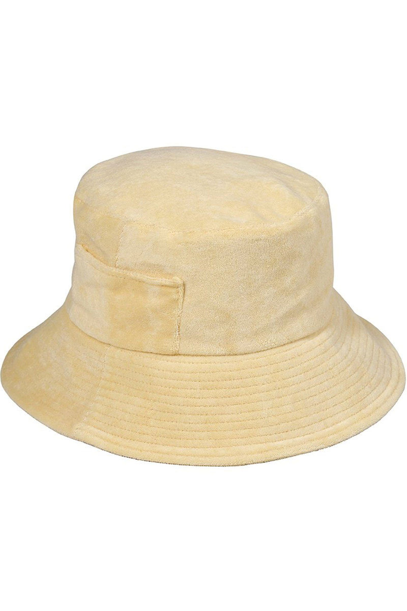 LACK OF COLOR | Wave Bucket Hat - Yellow Terry