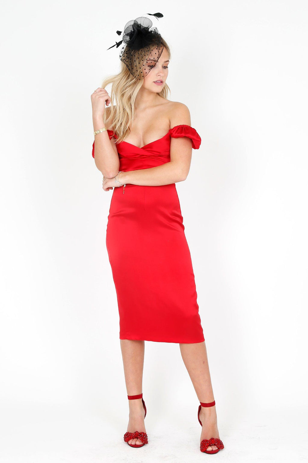 ALEXIS | Cadiz Dress - Red