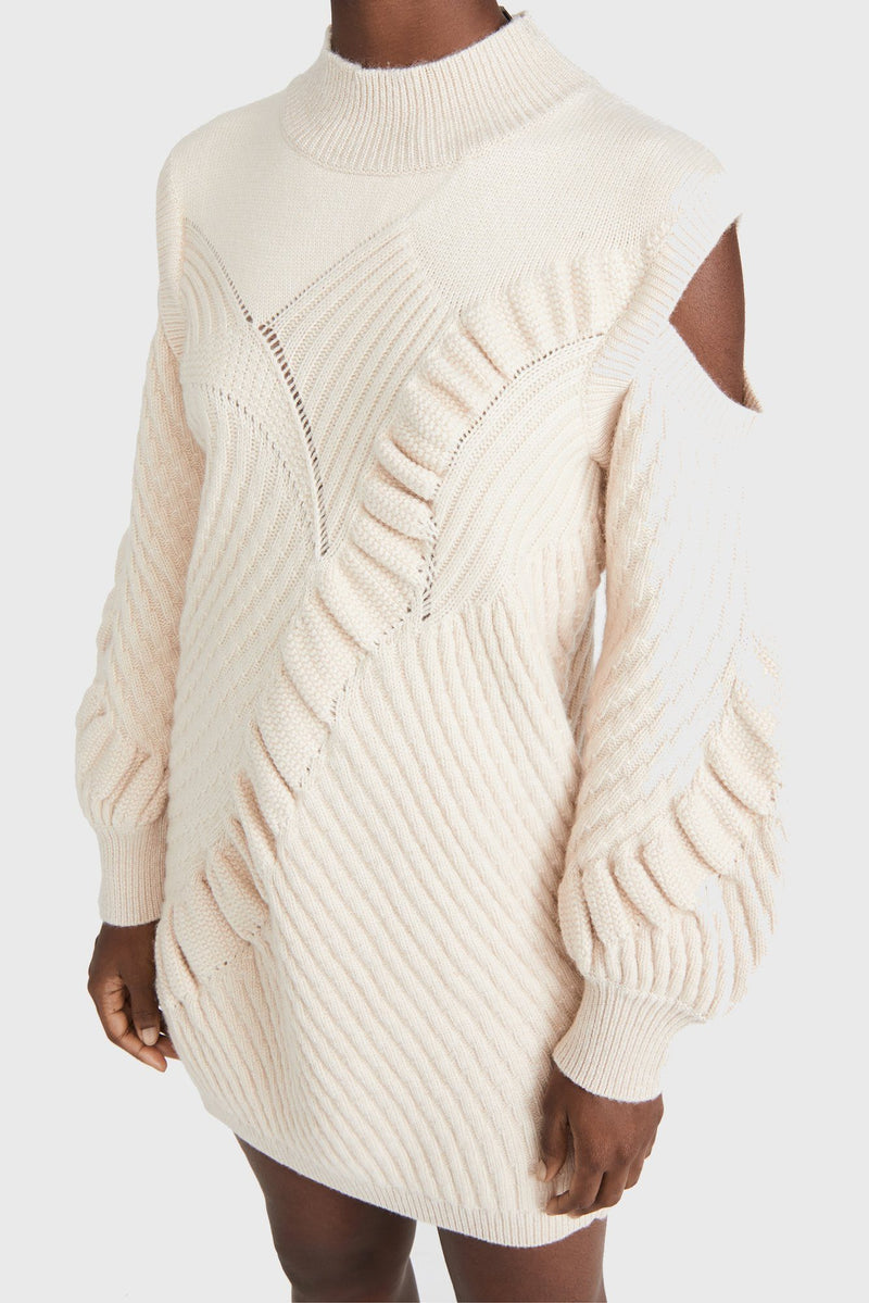 ALEXIS | Kimi Sweater Dress - Cream