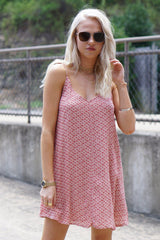 AMUSE SOCIETY | Avenida Del Sol Dress - Blush Print