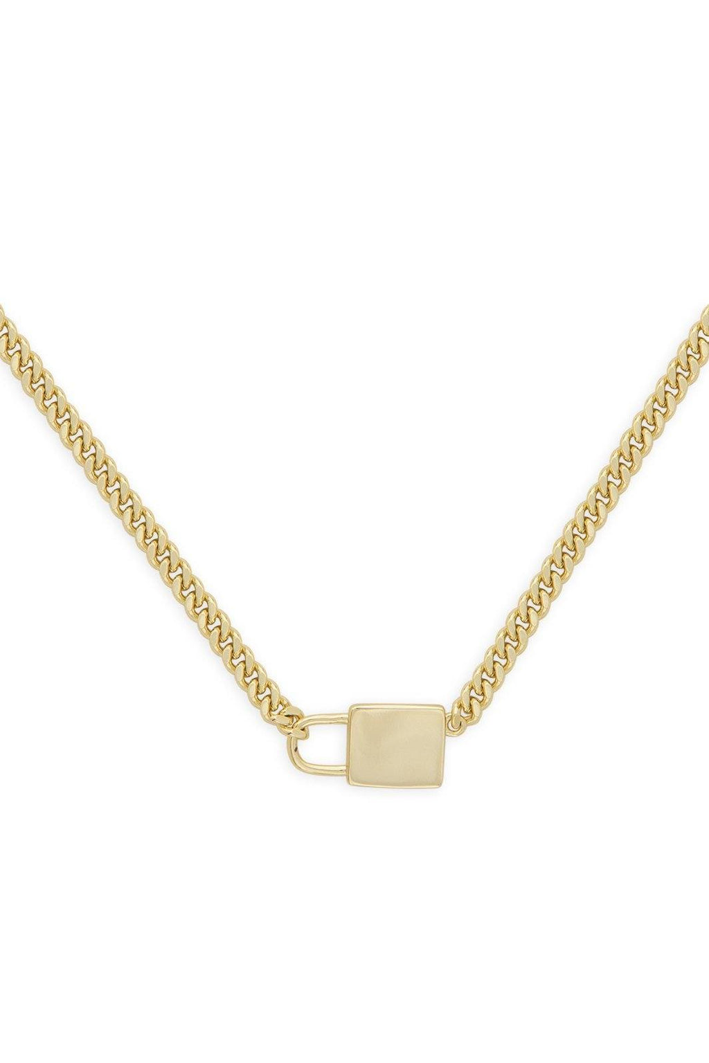 ASHLEY CHILDERS | Lock & Chain Necklace