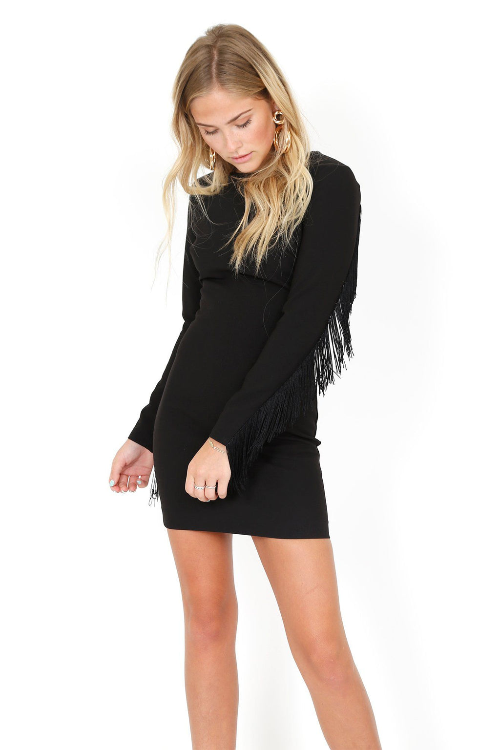 LIKELY | Quinley Dress - Black
