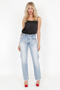 MOUSSY | Vintage MV Steele Straight Jean - Blue