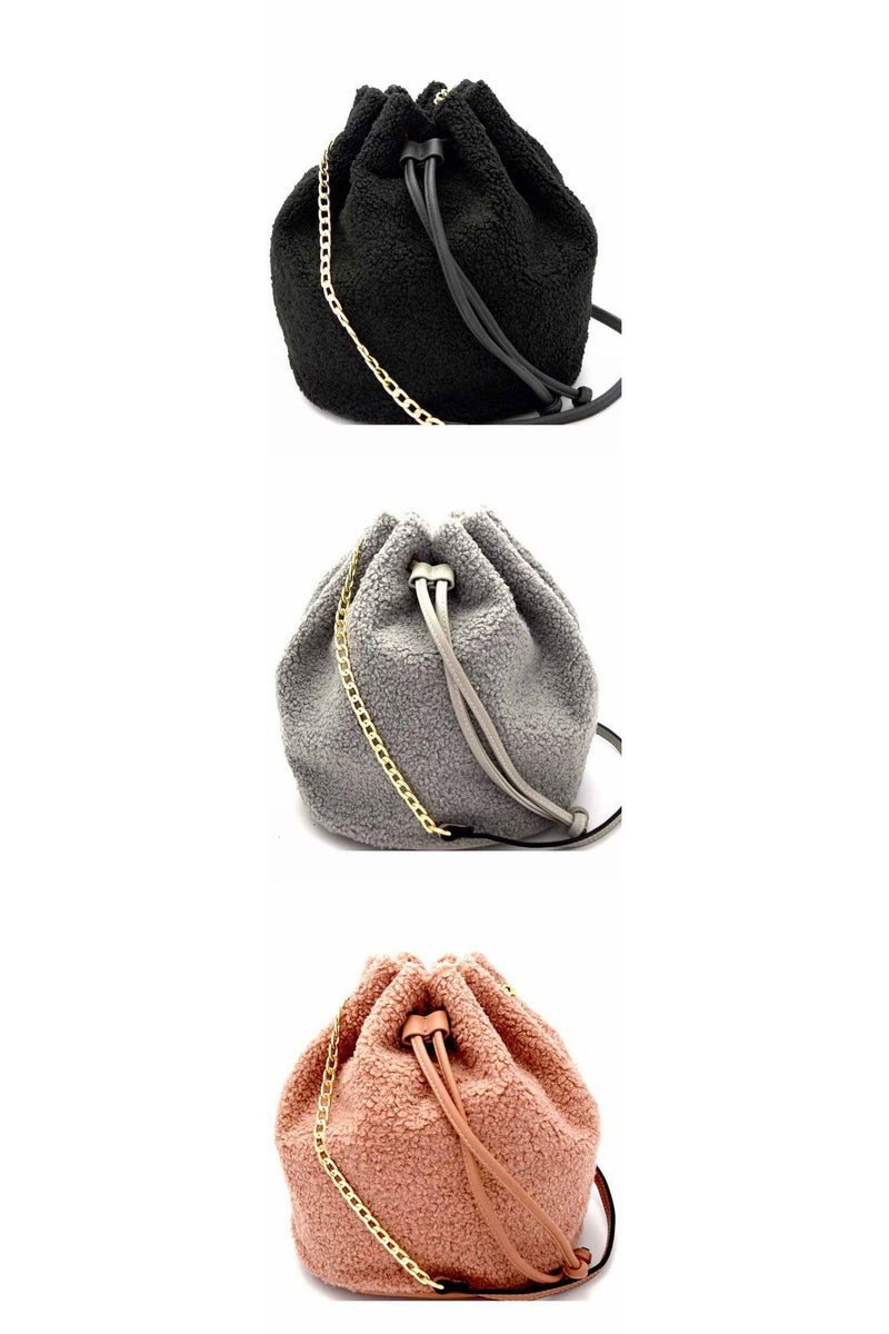 Fur All You Know Bucket Bag