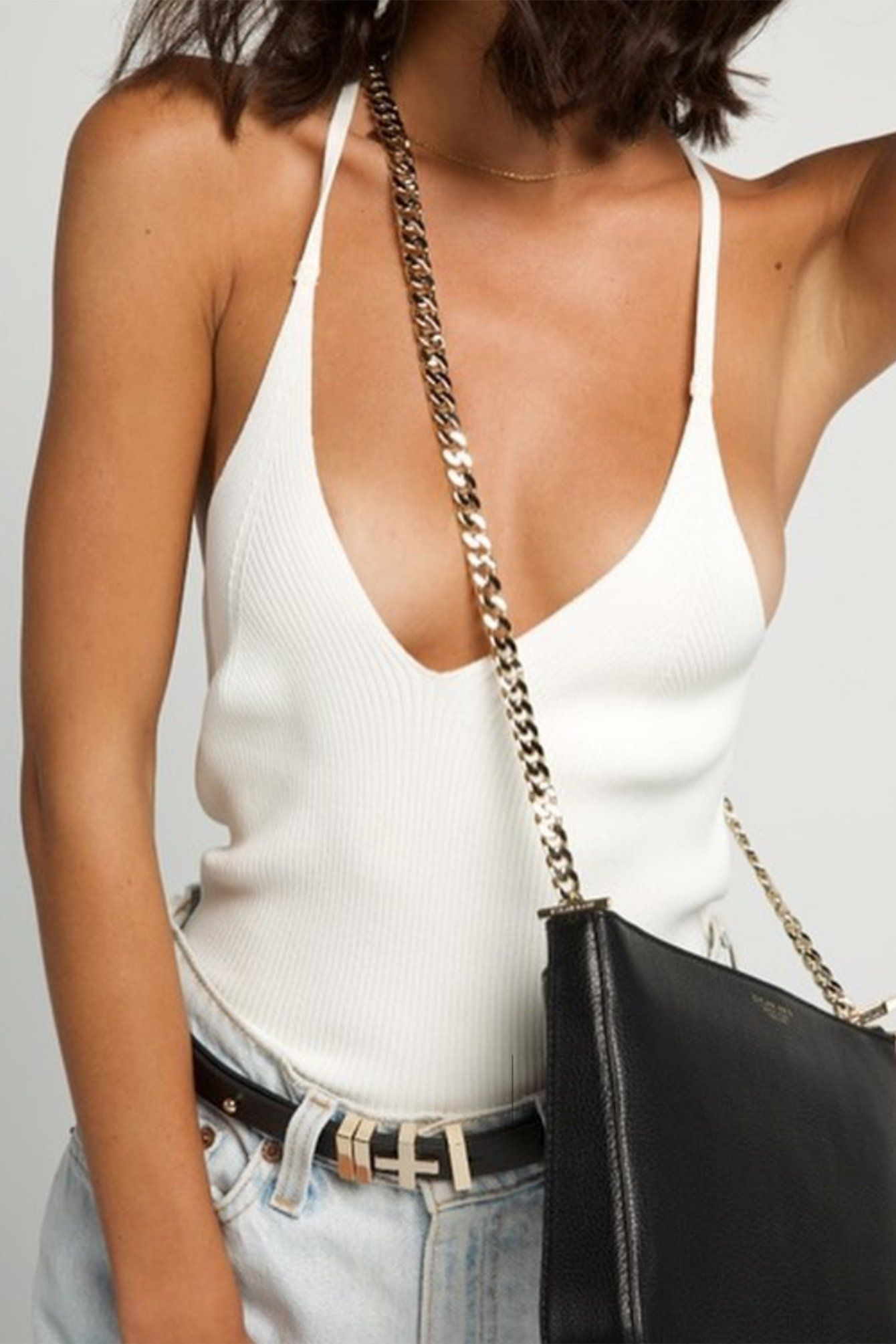 DYLAN KAIN | Chloe Shoulder Bag - Gold