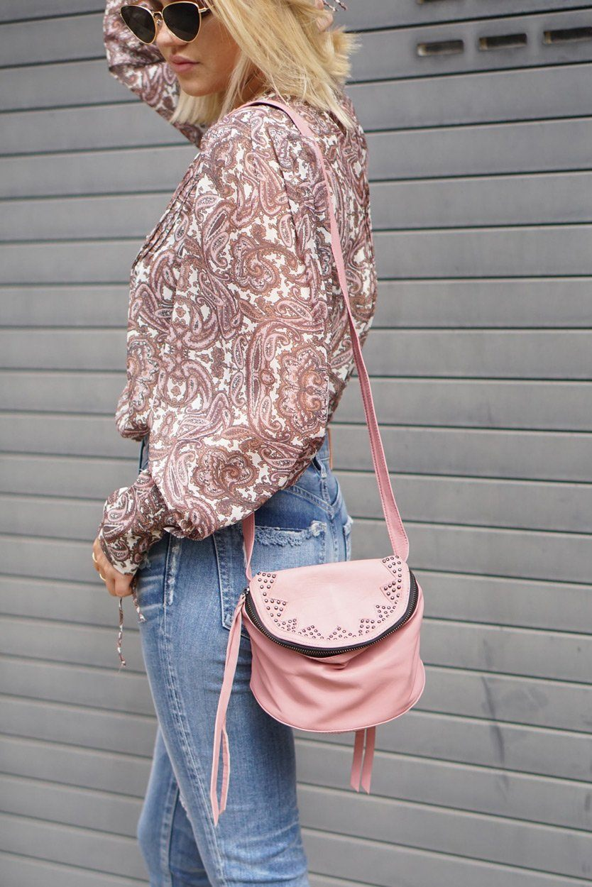 CLEOBELLA | Pike Mini Crossbody - Rose or Black