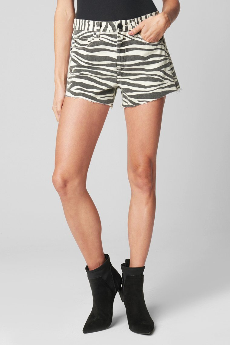 BLANK NYC | Barrow Short - Zebra Comeback Kid