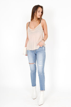 MOUSSY | MV Cooper Skinny Jean - Light Blu