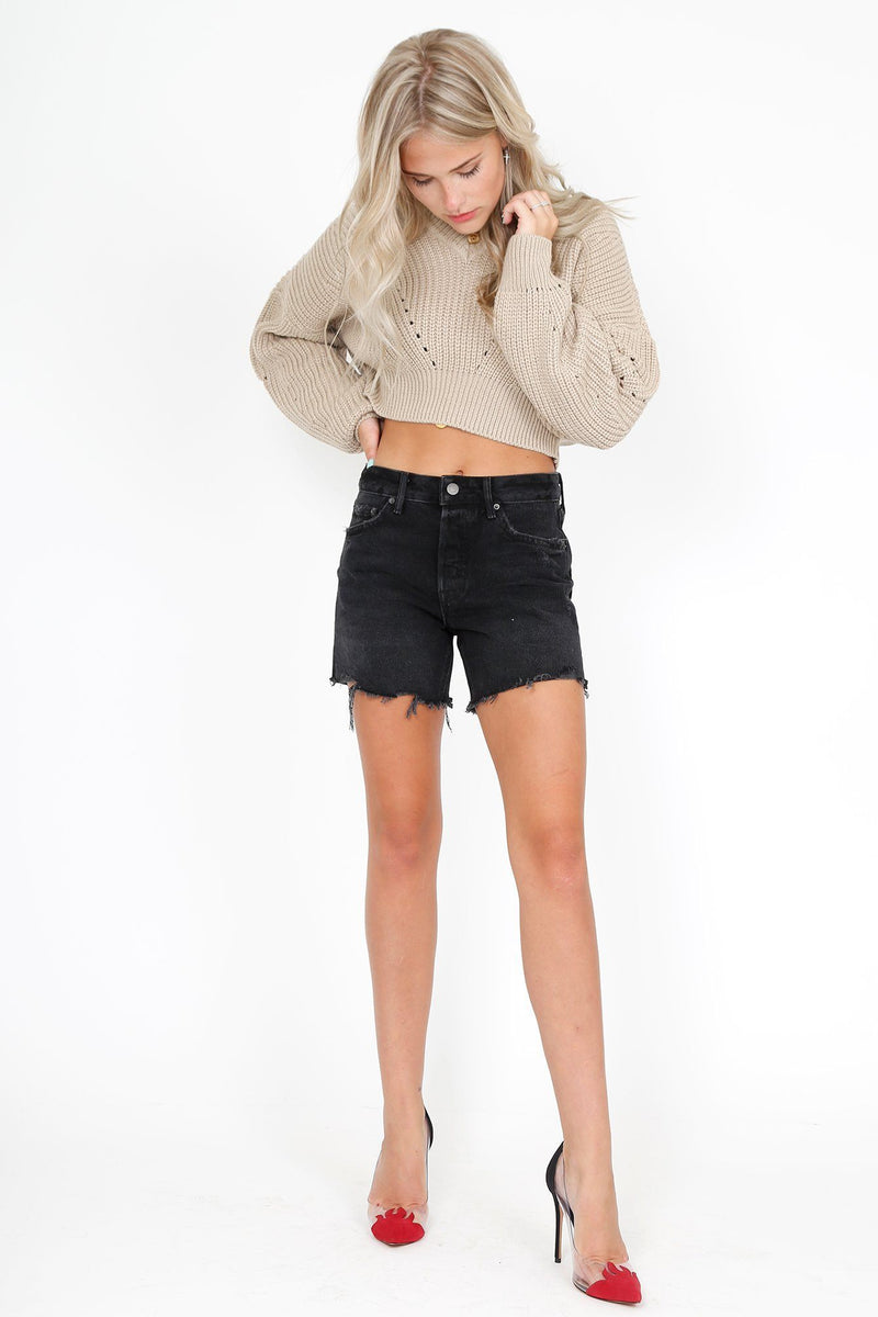 GRLFRND | Jourdan Denim Short - Late for Love