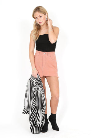 ONE TEASPOON | Suede Skirt - Sunset