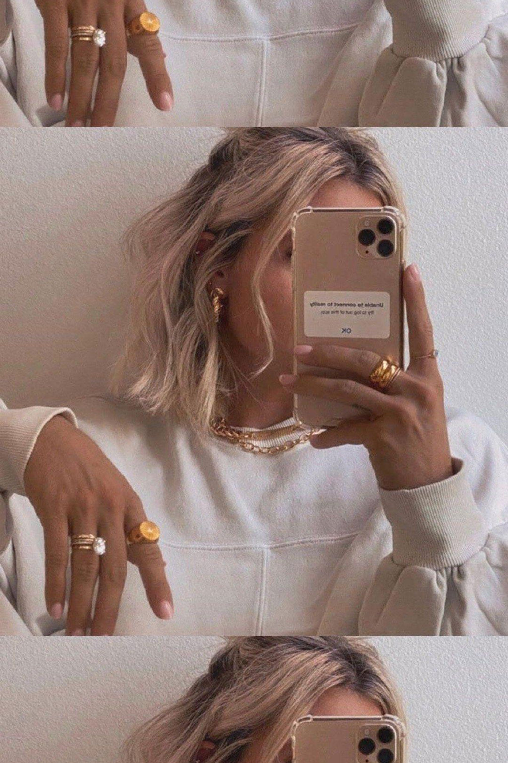 BRACHA | Accent Rings - Gold