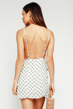 Go with the Low-back Day Dress