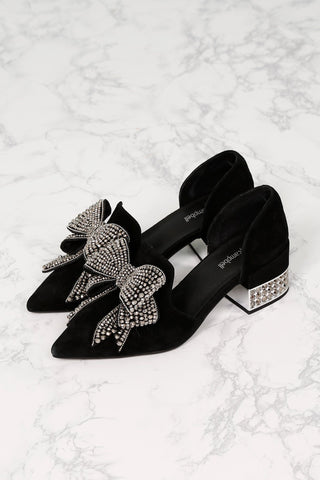 JEFFREY CAMPBELL | Valenti Bow Loafer - Black