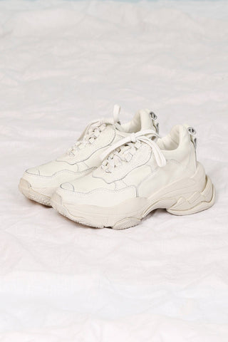 JEFFREY CAMPBELL | Lo-Fi Dad Sneaker - Off White