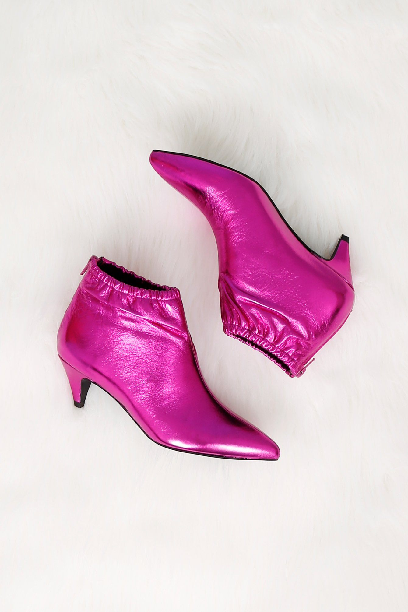 JEFFREY CAMPBELL - SCARLET EXCLUSIVE | Zosia Bootie - Fuchsia