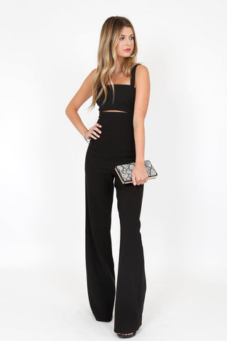 LIKELY | Paige Jumpsuit - Black