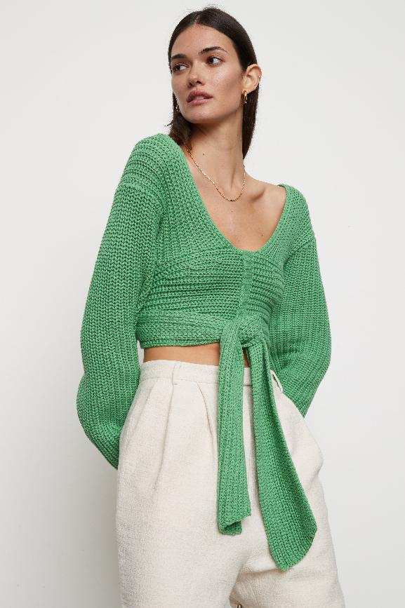 ATOIR | Perfect Game Knit  Kelly Green
