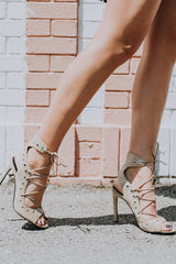 KENDALL + KYLIE | Deanna Heel - Light Natural Suede