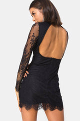 MOTEL | Lesora Lace Dress - Black