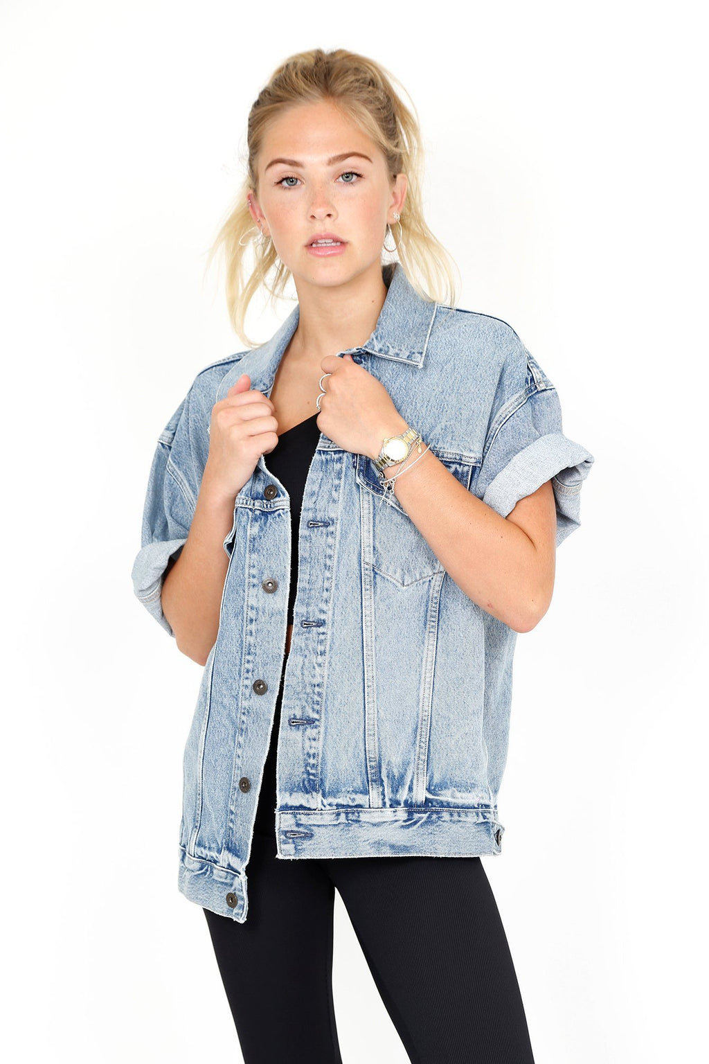 LEVIS | LMC Type III Cut Off Denim Jacket - Field Blues