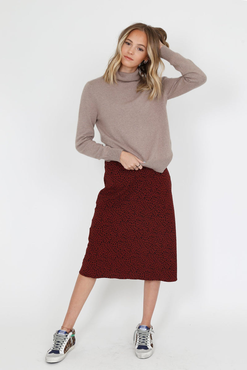 RAILS | London Skirt - Rust Spotted