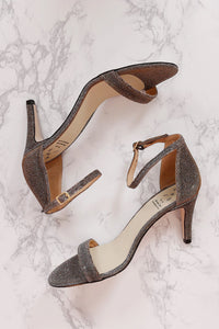 Metallic Heel - Old Gold